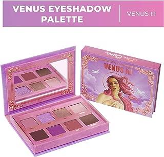 Lime Crime Venus 3 Eyeshadow Palettes - 8 Full Sized Matte and Metallic Eyeshadows - Dreamy Pinks & Purples - Buttery Smooth Formula - Mirrored Box - Vegan