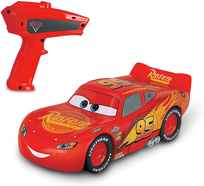 Disney Pixar Cars  6.5'' Lightning McQueen Crazy Crash Smash 5 Assorted Stickers  00274B 2pc Set