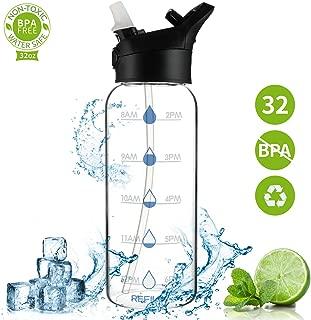8 glasses of water bottle