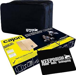 Schlagwerk CBA 2S cajón montar Keepdrum Gig Bag + Pad Asiento CP de 01