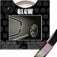 TIRE PENZ (タイヤペンズ)THE GLOW(ザ・グロウ) 塗装を侵さないリフレクターテープ 幅6.35mm×長さ9m BLACK