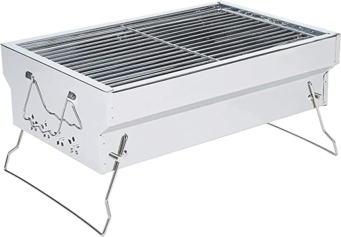 Samdray Charcoal Grill Kabob Grill - The Most Compact