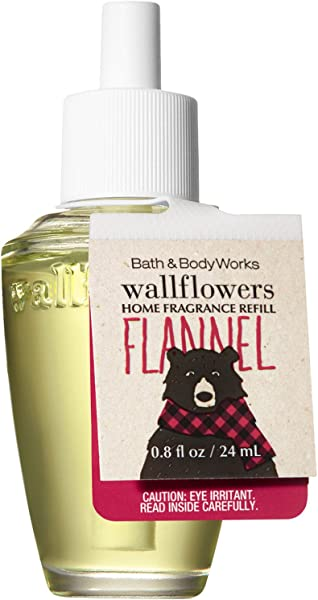 Bath And Body Works Wallflowers Home Fragrance Refill HOLIDAY EDITION Flannel