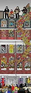 Kinks & Quirks Beatles Rooftop Canvas by David Gildersleeve