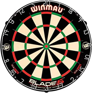 Winmau Blade 5 Dual Core Bristle Dartboard with Increased Scoring Area and Improved Dart..