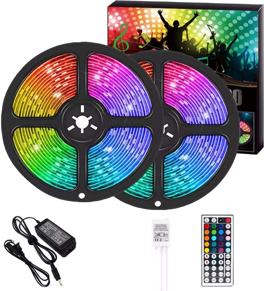LED Strip Lights 44-Key Free shipping on posting reviews Infrared Waterp 5050 RGB Ranking TOP16 12V Controller
