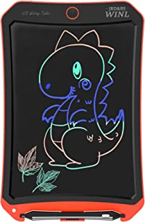 """JRD&BS WINL Colorful LCD Electronic Writing Tablet Toys for 4-9Year Old Boys, Teen Boy Girl Birthday Presents Gifts,Boy Gifts 8.5"""" Handwriting Paper Drawing Tablet at Home and Outdoor(Orange)"""