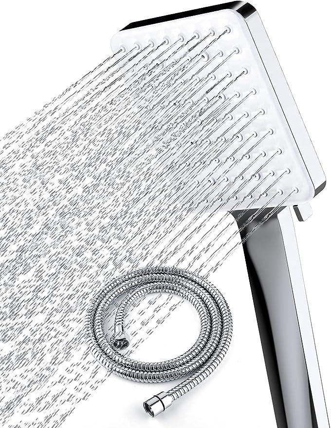 4653 opinioni per Soffione doccia con tubo flessibile, soffioni doccia ad alta pressione Newentor