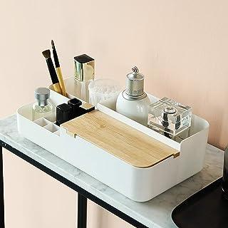 Make-updoos, Cosmetische Opslagorganisator Met Deksel, Multifunctionele Desktoporganisator Cosmetische Palet Opbergdoos, V...