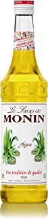 Monin Agave Syrup, Sweet and Full Flavor, Great for Any Beverage, Gluten-Free, Vegan, Non-GMO, 700 ml, Agave
