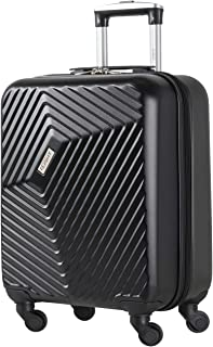 Flight Knight Lightweight 4 Wheel ABS Hard Case Suitcases Cabin Carry On Hand Luggage Maximum For Lufthansa and Air Canada - Cabin Black FFK03_BLAC_S