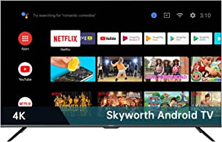 Skyworth S6G pro 55-inch 4K UHD Android Smart LCD TV with Google Assistant Built-in, Also Work with Alexa, Voice Remote, 2...