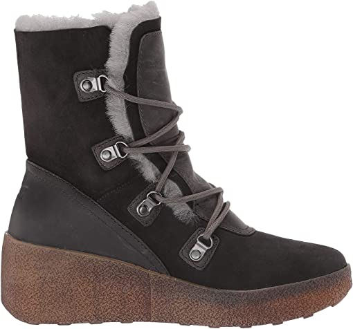 Pewter Suede/Shearling