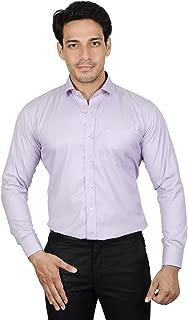 The Mods cotton Light Blue plain Shirt