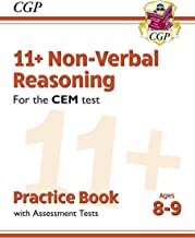 New 11+ CEM Non-Verbal Reasoning Practice Book & Assessment Tests - Ages 8-9 (CGP 11+ CEM)