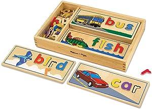 Melissa & Doug See & Spell   Developmental Toy   Motor Skills   Problem Solving   4+   Gift for Boy or Girl