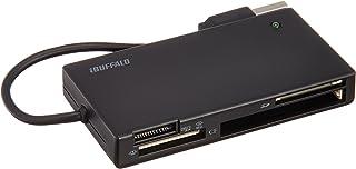 BUFFALO 高速カードリーダー/ライター 節電モデル ブラック BSCR24EU2BK