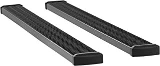 LUVERNE 415088-401723 Grip Step Black Aluminum 88-Inch Truck Running Boards for Select Ford F-250, F-350, F-450, F-550 Super Duty