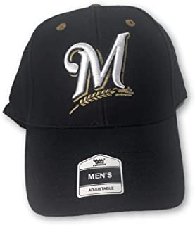 Fan Favorite Milwaukee Brewers Structured Adjustable Hat Navy