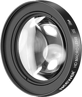 Neewer 58mm 10X Macro Primer Plano Lente con Vidrio Antirreflectante HD para Canon EOS 80D 70D 60D 50D 1Ds 7D 6D 5D 5DS T6s T6i T6 T5i T5 T4i T3i T3 y SL1 Digital SLR Camaras