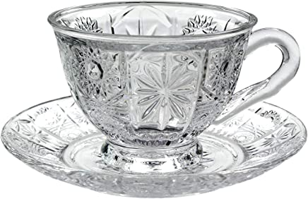 0c7aef62500 Amazon.in: Glass - Tea & Coffee Sets / Cups, Mugs & Saucers: Home ...