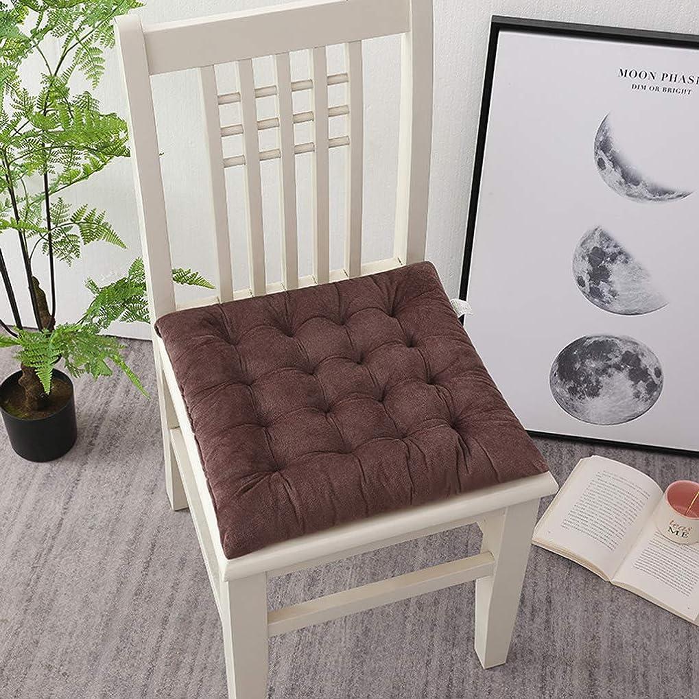 蜂仮定対人椅子 クッション にとって ダイニング 椅子 キッチン, 快適 屋内 アウトドア シート パッド クッション 生活 ルーム パティオ 庭園-ブラウン