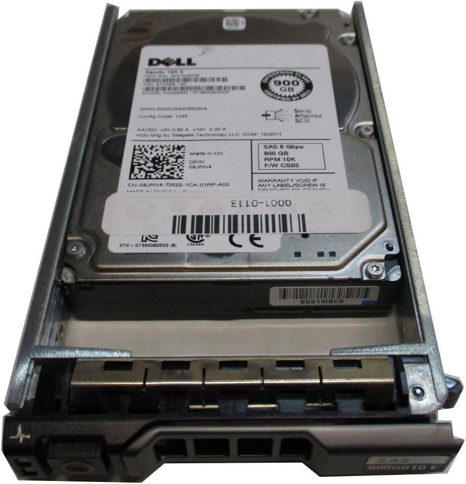 DELL 900GB 10K 6G 2.5INCH SAS HDD 8JRN4 (Certified Refurbished)