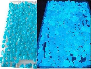 E-Uli Glow in The Pebbles Stones for Indoor and Outdoor Walkways Garden Driveway Large Bag Powered by Light and Solar 400 Pcs Desktop Zen Garden