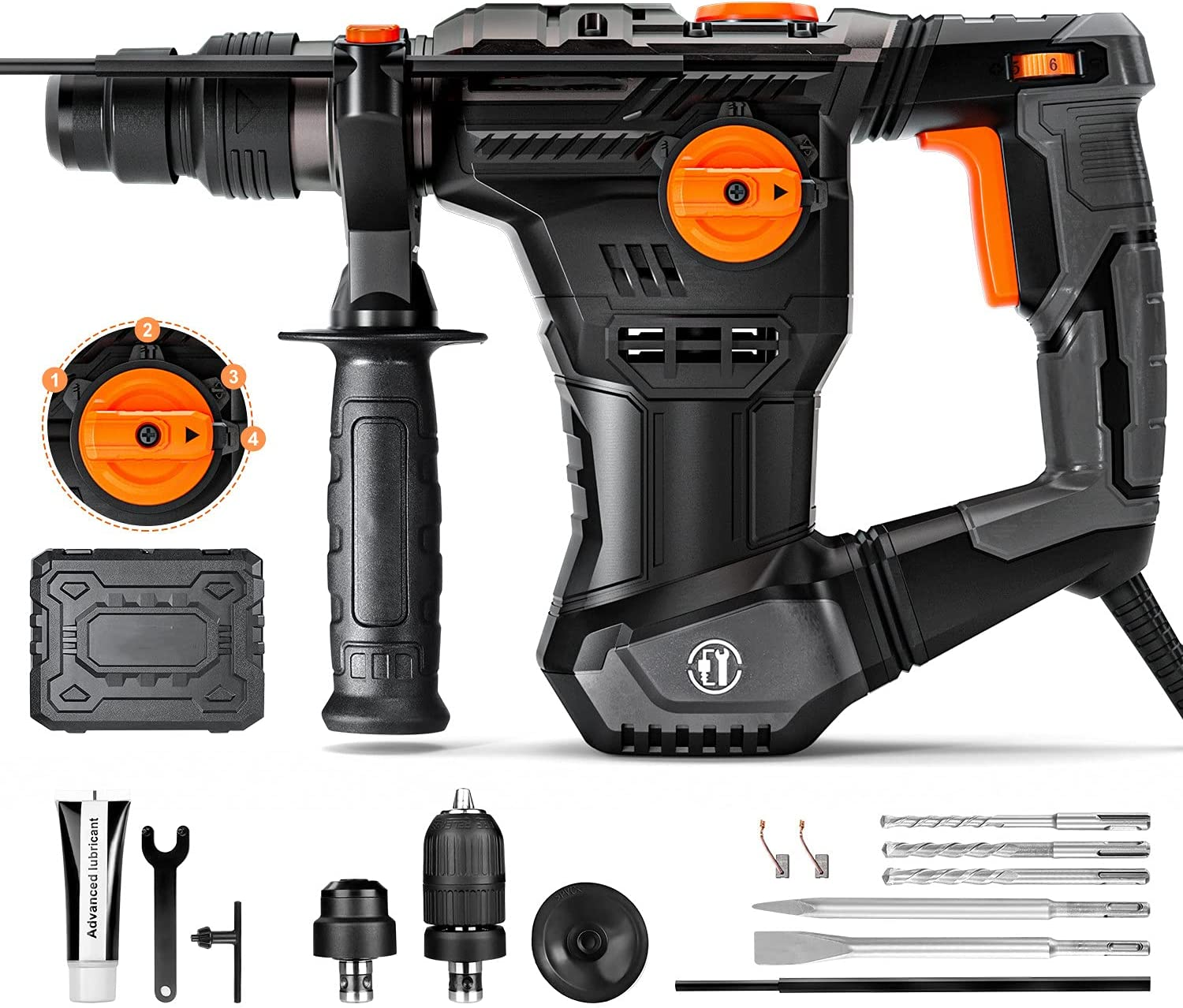 1256 TRH02A 9.5A 1'' Rotary Hammer Drill $59.99 Coupon