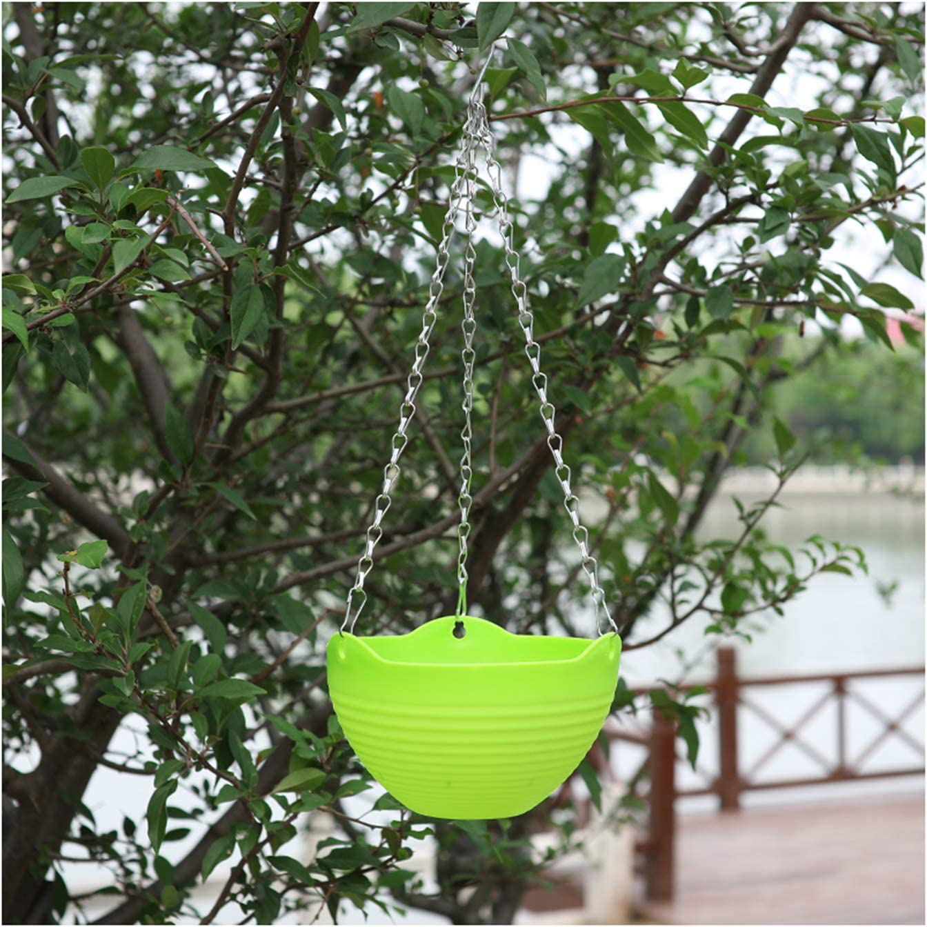 Dheera Max 75% OFF Hanging Planter Plastic Flower Max 60% OFF Ho Pot Hook-Type Plant