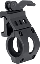 Monstrum 1 Inch Offset Picatinny Rail Mount for Flashlights with Quick Release
