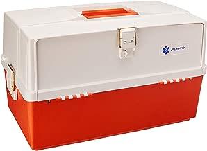 Plano - Caja médica, Color Naranja y Blanco