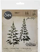 Sizzix 660978 Thinlits Die Set, Woodlands by Tim Holtz, 2/pack