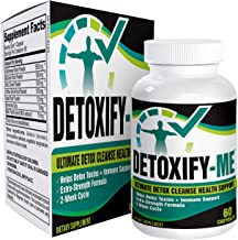 14-Day Total Detox Cleanse Supplement - Natural Drug Detox Pills - Supplements - 60 Capsules