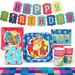 Llama Llama Party Supplies (Standard) Birthday Party Pack, 66 Piece Set, by Prime Party