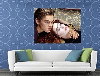 Titanic Jack Rose Movie Leonardo DiCaprio Kate Winslet 47x35 Huge Giant Print Poster