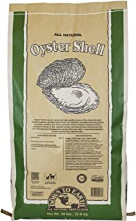 Down To Earth Oyster Shell, Calcium Supplement for Gardens and Lawns, 50 lb