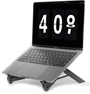NEXSTAND K7 Lite // New Portable Laptop Stand // Foldable Desktop Notebook Holder Mount- Eye-Level Ergonomic Height Design...
