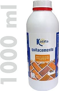 KATIFA Quitacemento Antisalitre 1000 ml. Elimina restos de