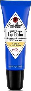 JACK BLACK - Intense Therapy Lip Balm SPF 25 - Green Tea Antioxidants, Long Lasting Treatment, Broad-Spectrum UVA and UVB Protection