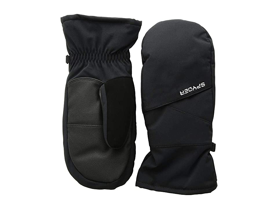 Spyder Kids Astrid Ski Mitten (Little Kids/Big Kids) (Black/Black) Ski Gloves