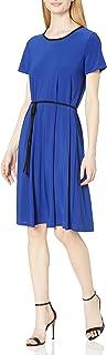 فستان ستار فيكسن للنساء بأكمام قصيرة