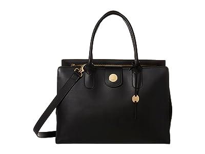 Lodis Accessories Rodeo RFID Ally Work Tote (Black) Tote Handbags