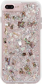 Case-Mate iPhone 8 Plus Case - KARAT - Real Mother of Pearl - Slim Protective Design for Apple iPhone 8 Plus - Mother of Pearl