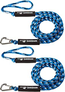 SandShark Anchor Bungee Dock Line. Absorbs Shock to Anchors and Docks Stretches from 7'-14'. Designed for use Anchors. Stops The Waves from Pulling Your Anchors Out!