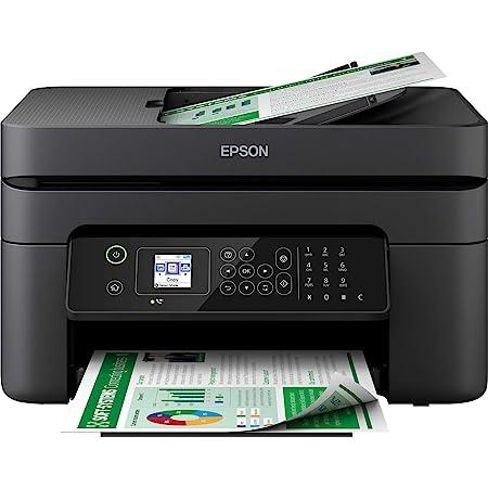 Epson Imprimante WorkForce WF-2830, Multifonction 4-en-1 pro : Imprimante recto verso / Scanner / Copieur / Fax, Chargeur de documents, A4, Jet d'encre couleur, Wifi Direct, Cartouches séparées