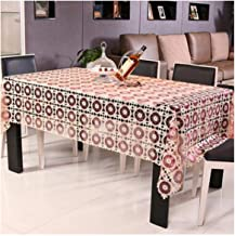 wing1 Proud Rose Embroidery Table Cloth Transparent Tablecloths Home Decor Lace Tablecloth Table Cover White Tea Tablecloth,Wine red,130x180cm