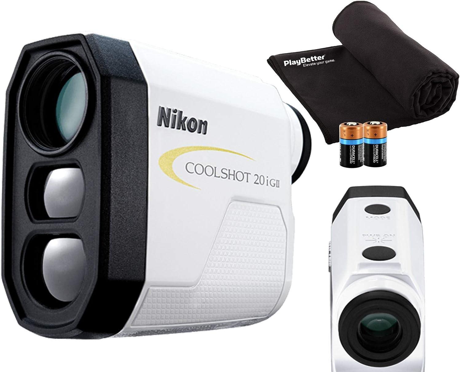 Nikon COOLSHOT 20i GII Golf Popular product Daily bargain sale Rangefinder Includes Bundle Laser