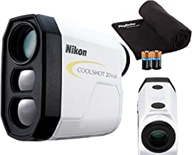 $239 » Nikon COOLSHOT 20i GII Golf Laser Rangefinder Bundle | Includes Carrying Case, PlayBetter Microfiber Towel, Two (2) CR2 Ba...