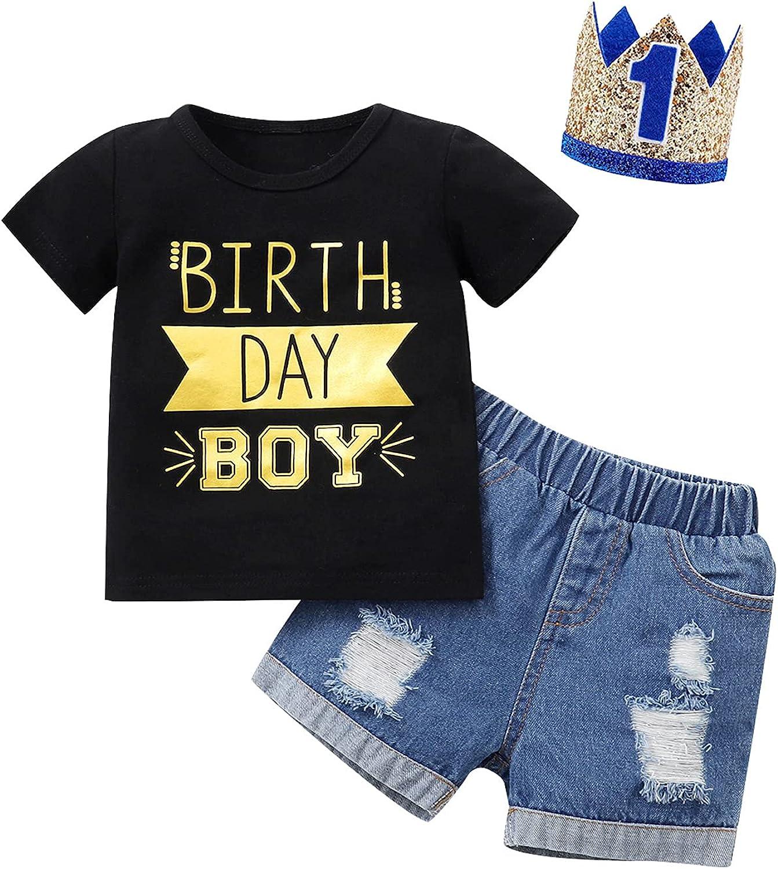 Baby Boy Birthday Outfit BoysBirthdayShirt Baby Birthday Clothes